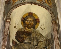 Fresco in  Svetitskhoveli Cathedral