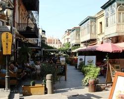 Pedestrian area - cafes